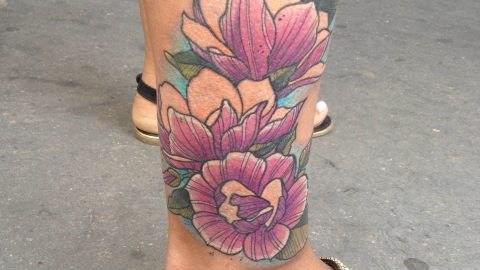 flower tattoo-min