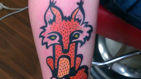 fox tattoo-min