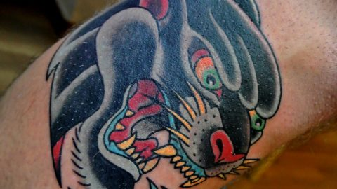 panther tattoo-min